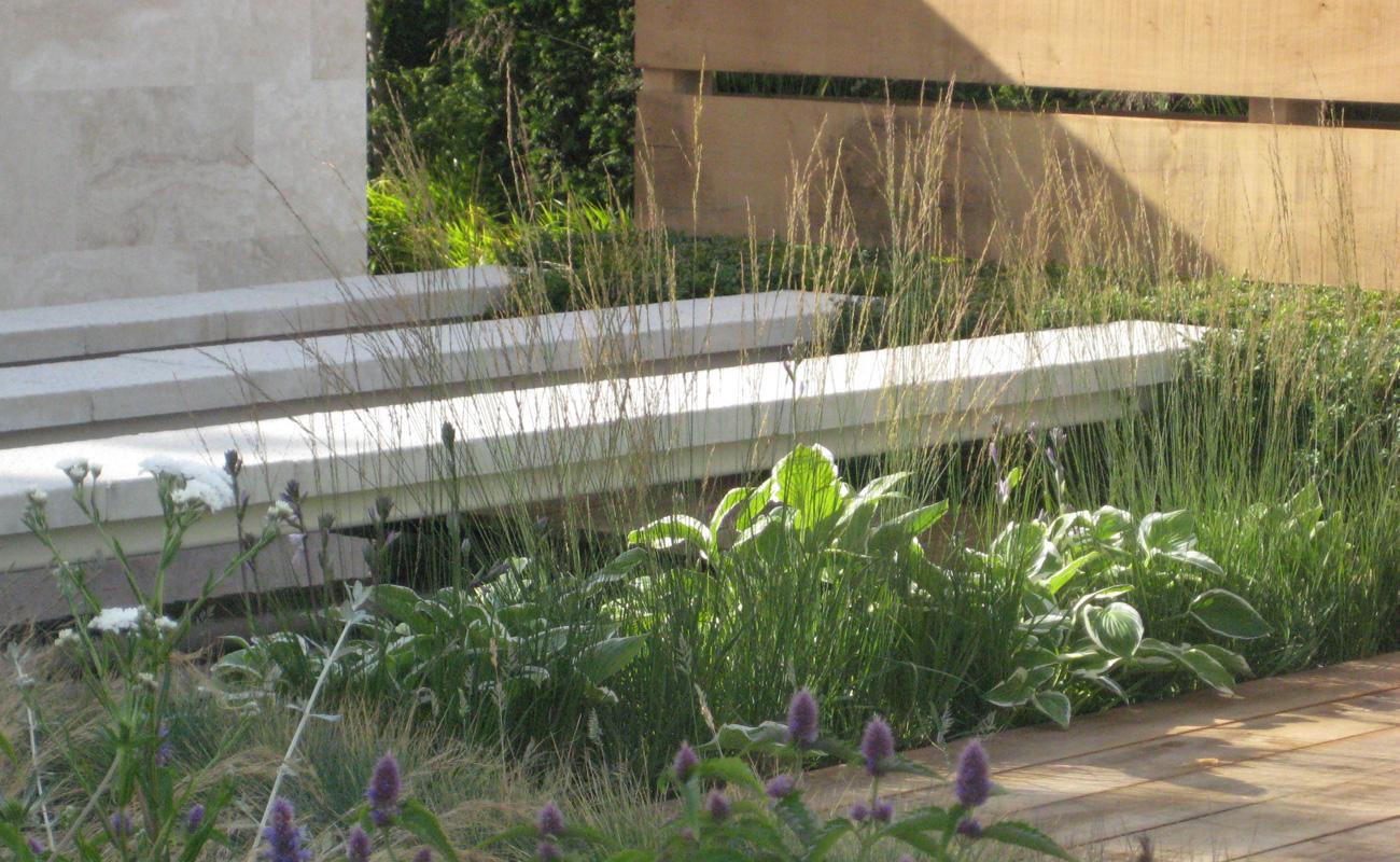 Amanda Patton Hampton Court modern garden design 7