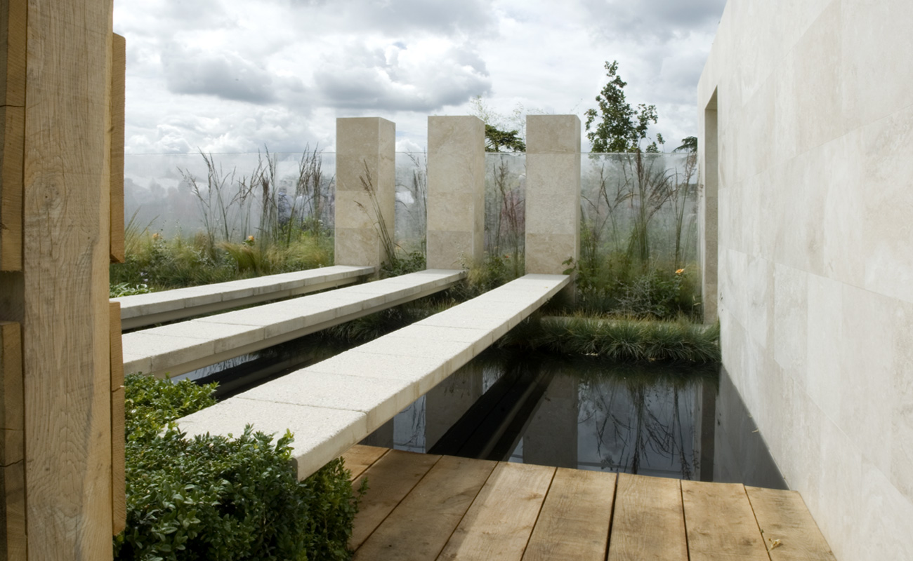 Amanda Patton Hampton Court modern garden design 5