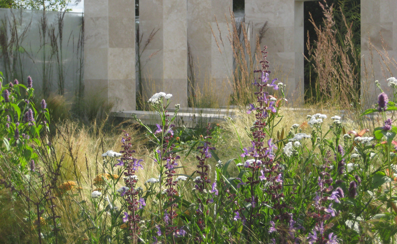 Amanda Patton Hampton Court modern garden design 6