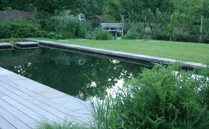 Natural Swimming Pond Sussex Garden Design 1