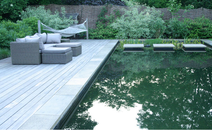 Natural Swimming Pond Sussex Garden Design 3